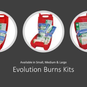 Evolution Burns Kits