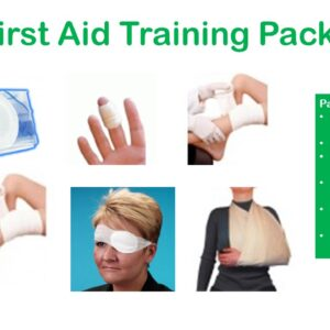 First Aid Training Packs