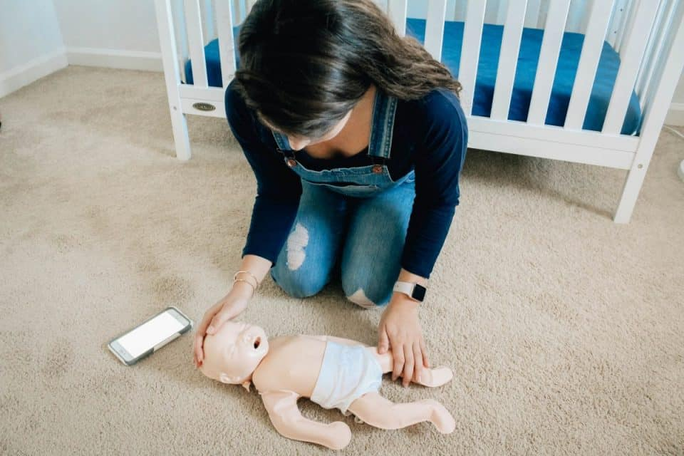 Nanny Paediatric First Aid Training